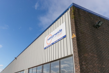 Nationwide Crash Repair Centre at Lochlands Industrial Estate, Larbert